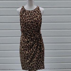 MOSCHINI animal print dress